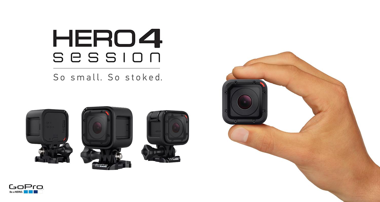 معرفی دوربین ورزشی Hero 4 Session