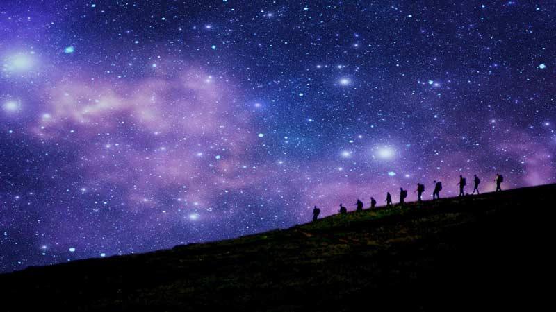 گردشگری نجومی یا رصدی، مشاهده با چشم غیرمسلح