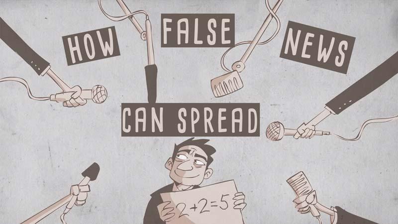 چطور اخبار نادرست و شایعات پخش میشن؟