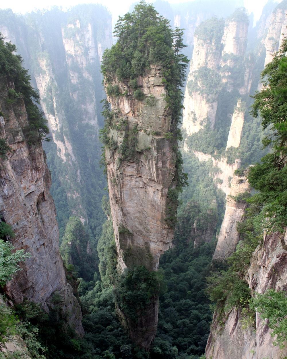 کوه های تیانزی، چین