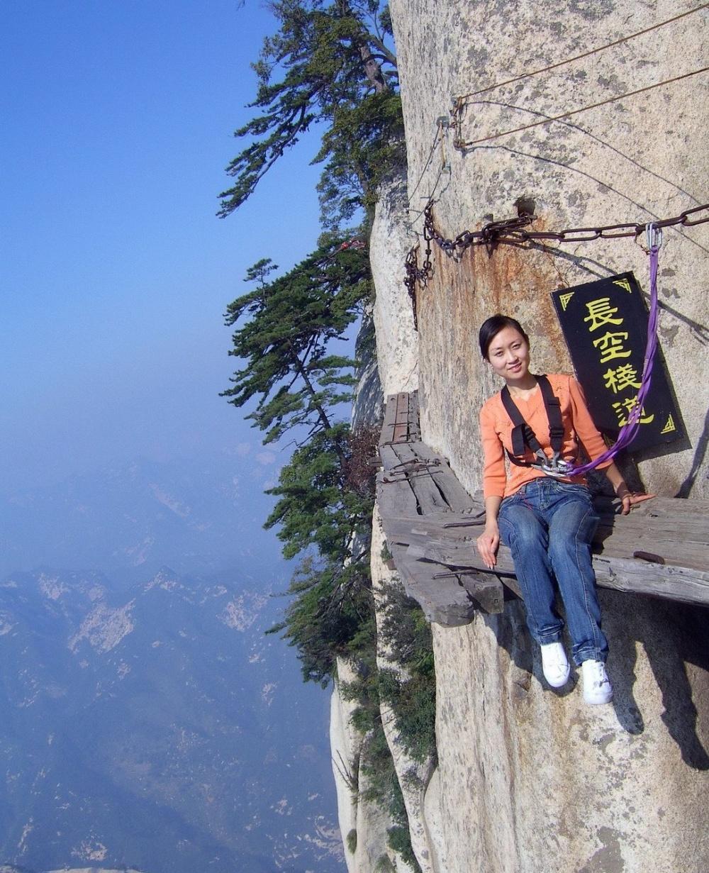 مسیر مرگ ارتفاع2130متر، چین