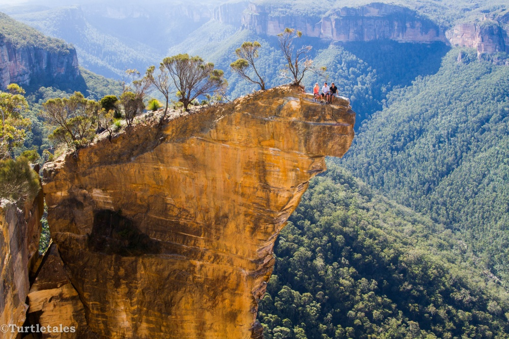 صخره معلق، ویکتوریا، استرالیا