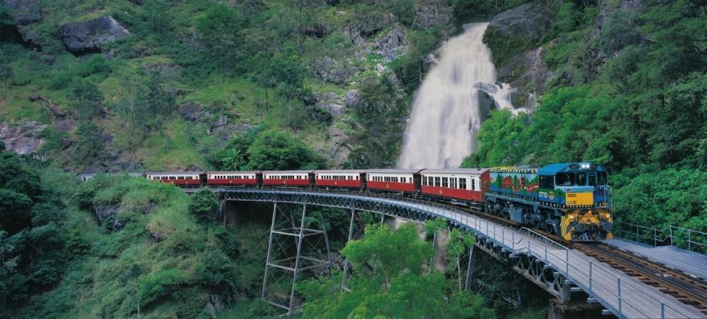 راه آهن تماشایی در کوراندا