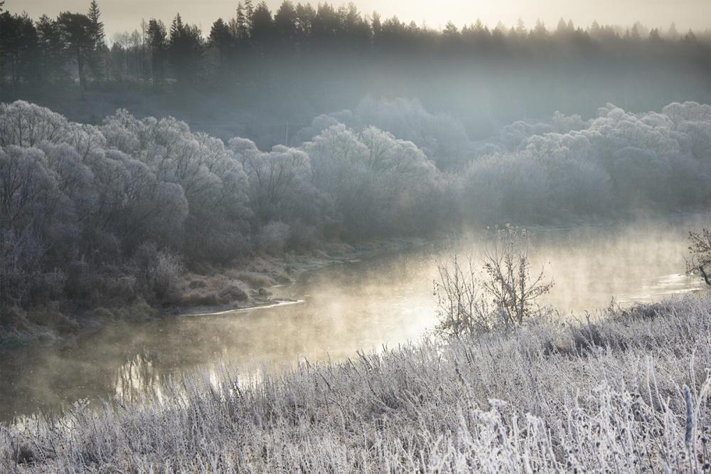 رودخانه ی اوکا، منطقه ی تولا،روسیه