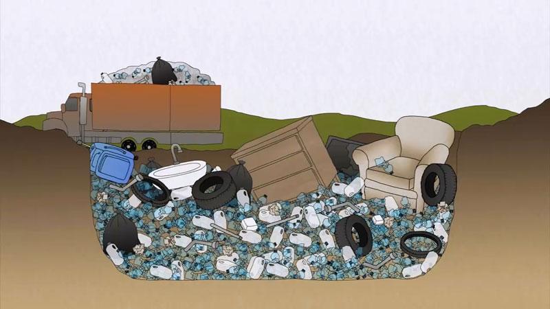 چه اتفاقی برای پلاستیکی که دور میاندازید میافتد؟