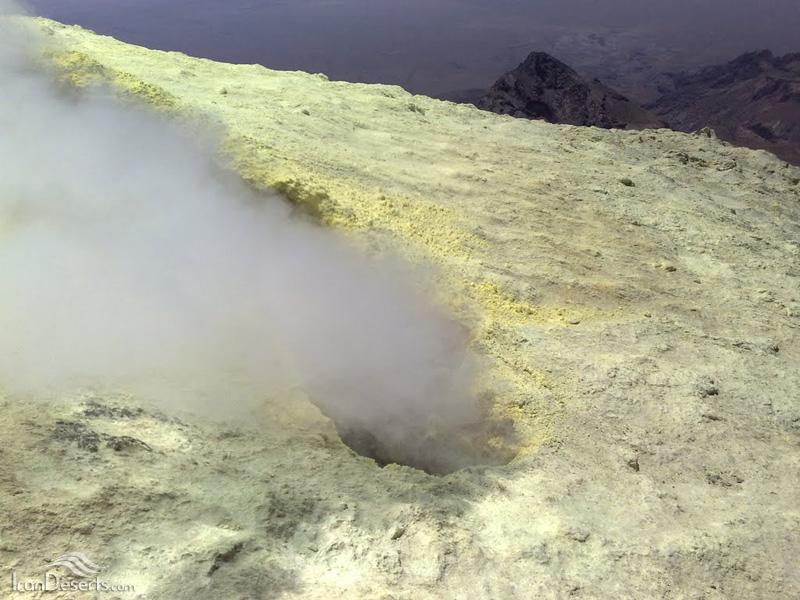 قله تفتان
