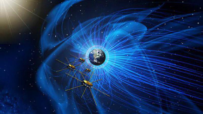 مشاهدات جدید برهمکنش میدانهای مغناطیسی زمین و خورشید