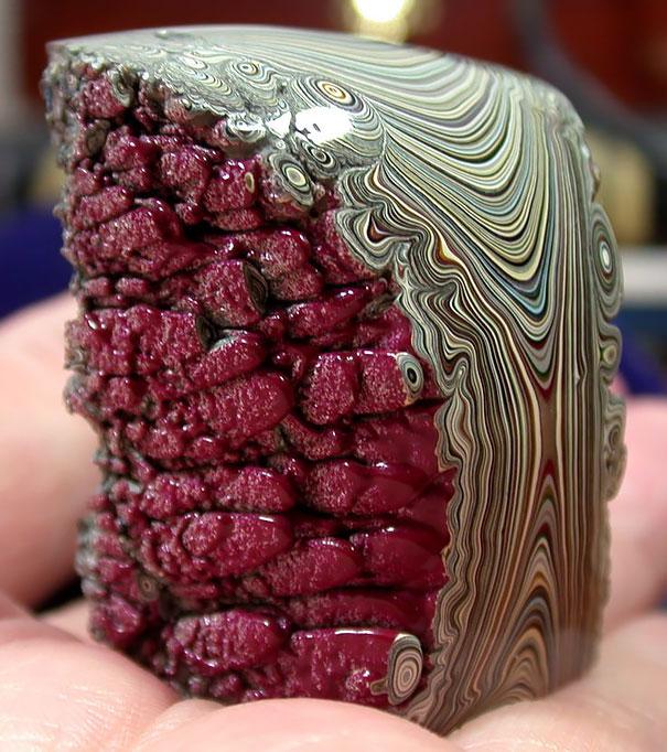 لایههای پلیش شده رنگ
