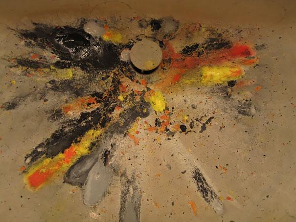 هنر تصادفی در ظرفشویی