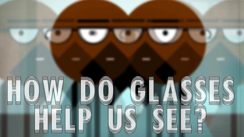 چهگونه عینک به ما در بینایی کمک میکند؟
