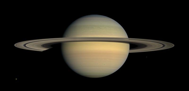 چرا سیارهی زحل حلقه دارد؟