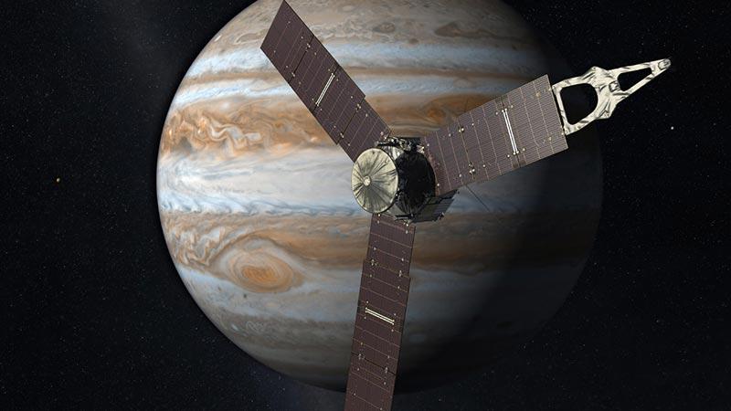 سفینه فضایی جونو متعلق به ناسا به سیاره مشتری رسید
