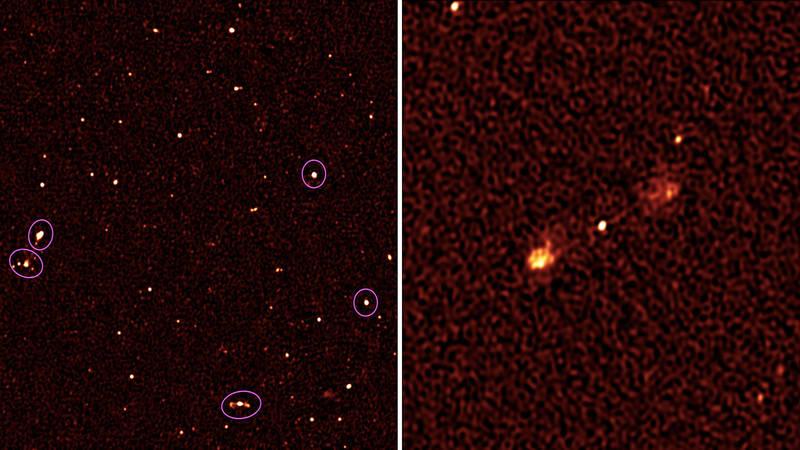 شناسایی ۱۳۰۰ کهکشان جدید توسط تلسکوپ آفریقای جنوبی