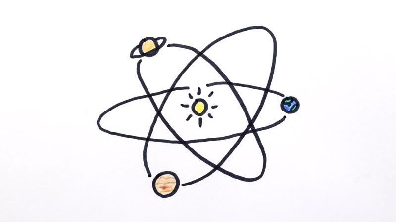 دلیل تخت بودن منظومه شمسی