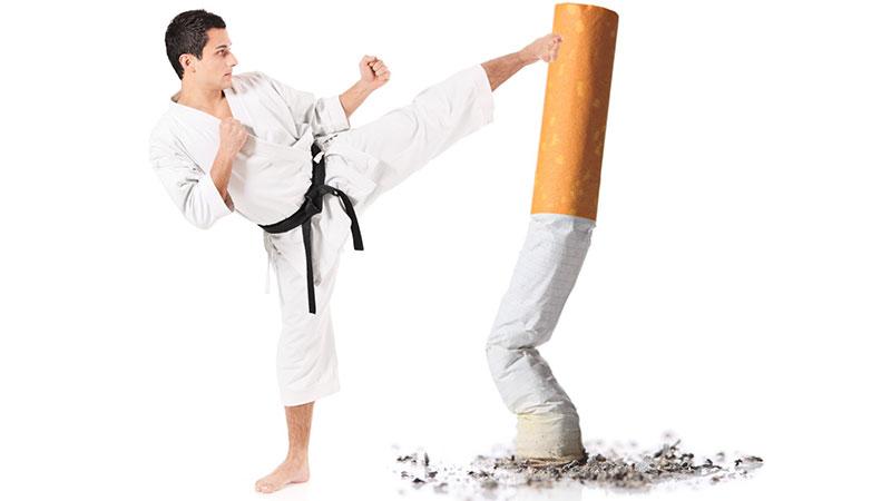 اتفاقاتی که بعد از ترک سیگار در بدن روی میدهد