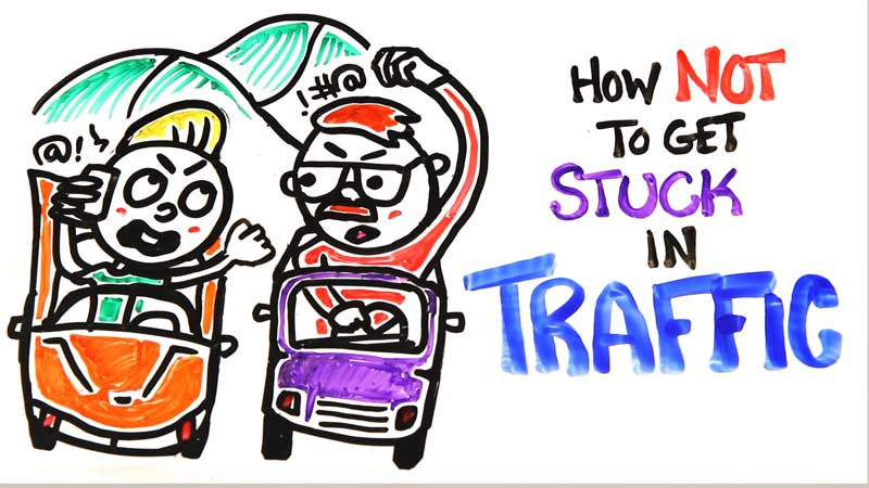 راههای جلوگیری از ایجاد ترافیک