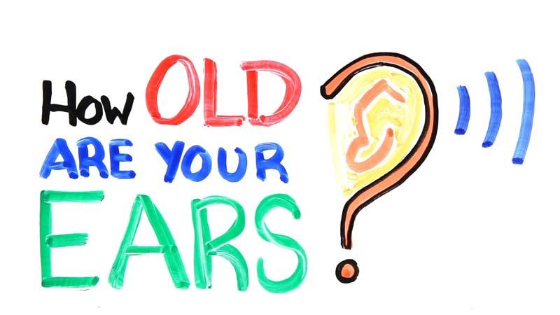 گوش شما چند سالهست؟ این تست را با هدست انجام دهید.
