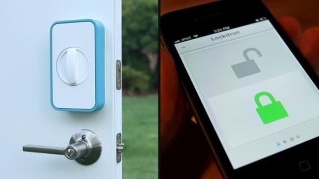 این دستگاه در را بدون هیچ کلیدی قفل میکند