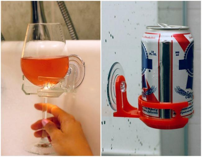 نگهدارندهی لیوان برای حمام و دوشگرفتن