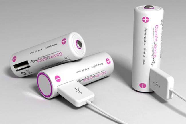 باتری با پورت USB