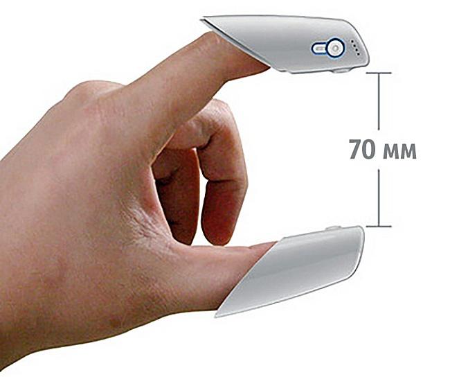 دستگاهی برای اندازهگیری فاصلهی بین انگشتان