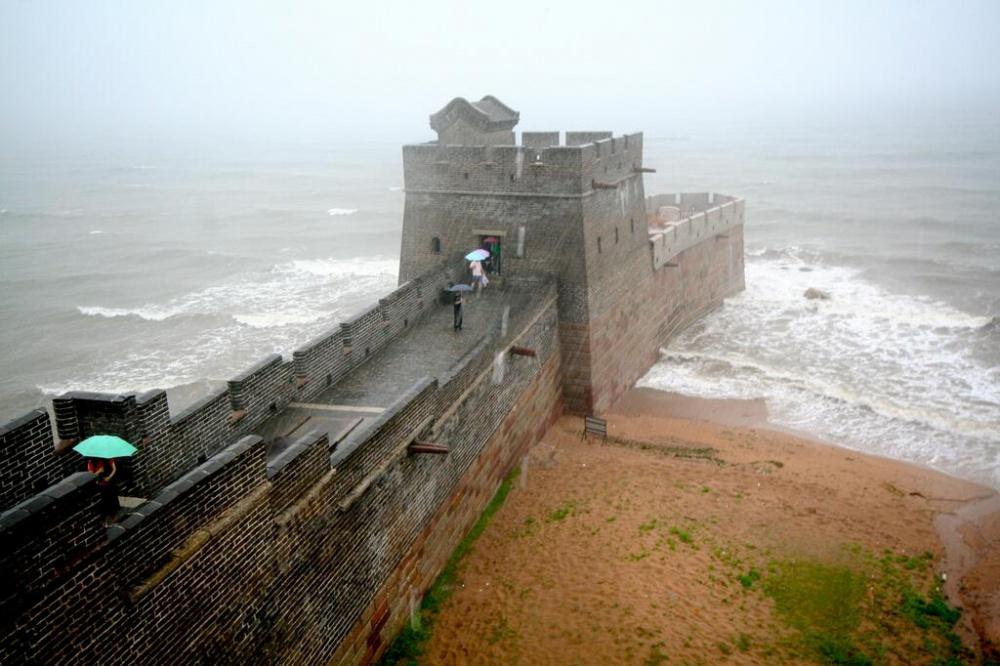 جایی که دیوار چین در ساحل بوهای شروع میشود