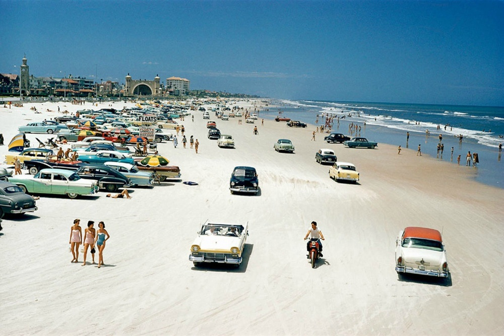 ساحل دیتونا، فلوریدا، 1957