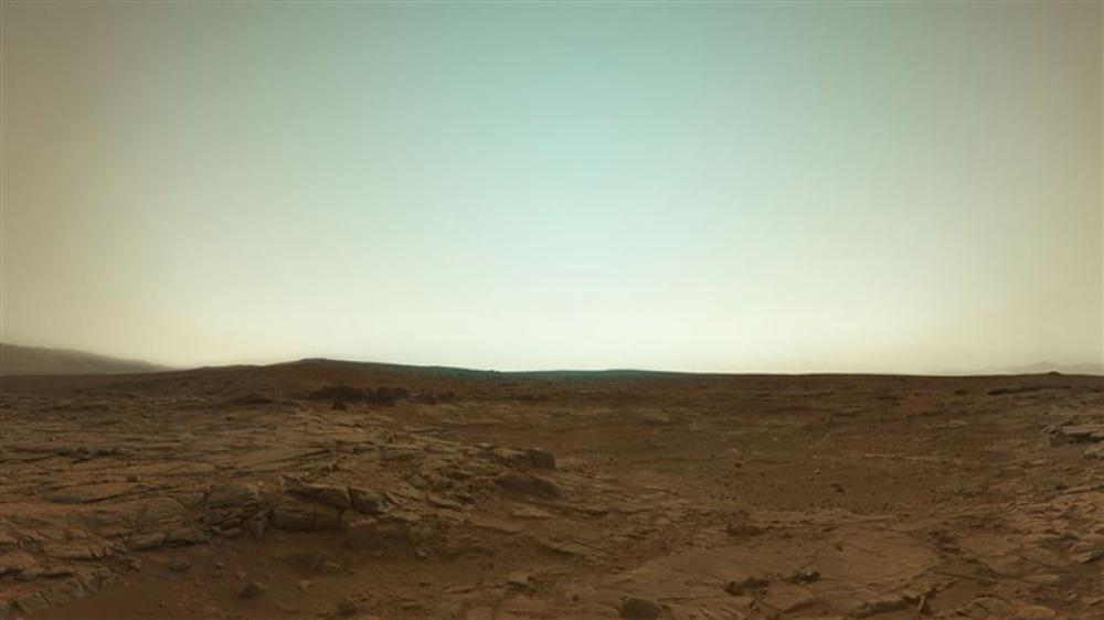 عکسی با رنگهای صحیح از مریخ