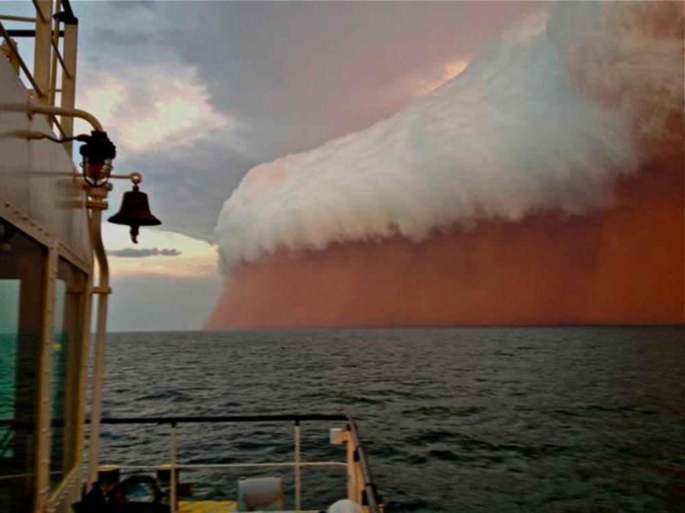 طوفان عظیم غبار، استرالیای غربی،2013