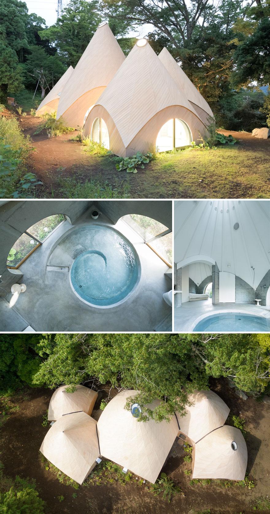 یک خانه جنگلی منحصربهفرد برای دو بانوی بازنشسته.