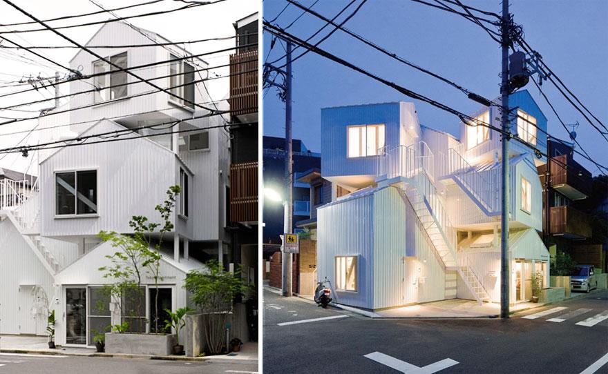 آپارتمانهای توکیو.