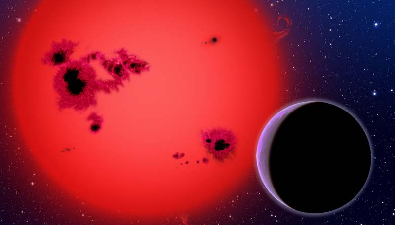 آخرین ستاره در جهان - کوتوله سرخ