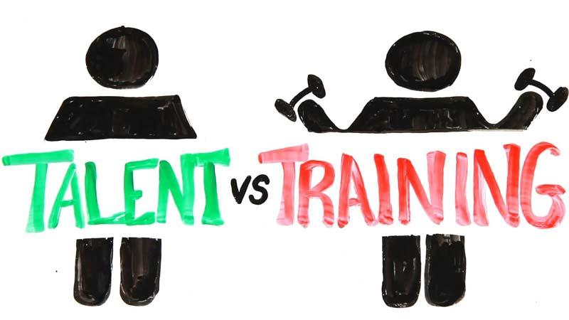 در موفقیت استعداد مهمتر است یا پشتکار؟