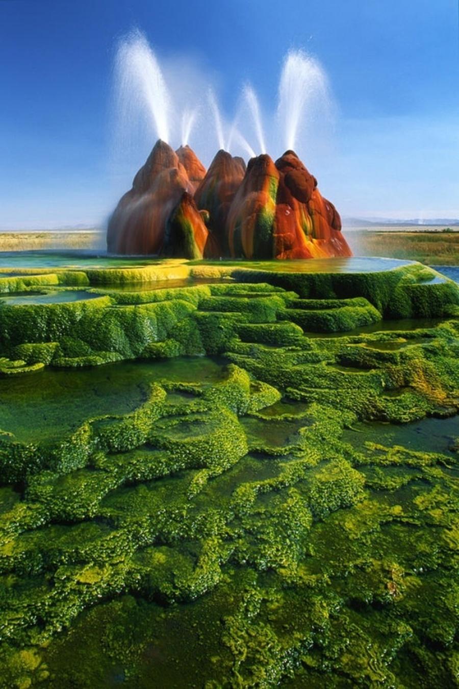 چشمه آب گرم پروازی، نوادا، ایالات متحده آمریکا