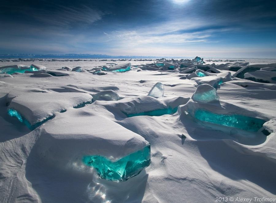 دریاچه بایکال، سیبری، روسیه