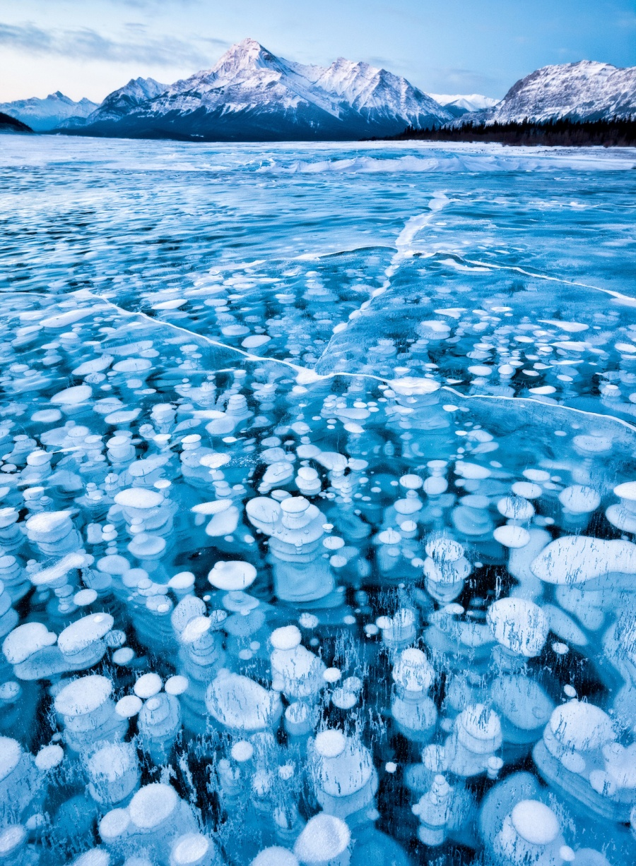 دریاچه آبراهام، آلبرتا، کانادا
