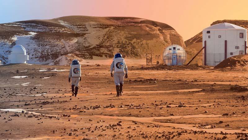 تغییر مریخ و تبدیل آن به زمینی دیگر