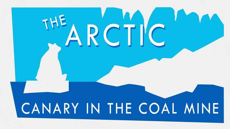 تغییرات آب و هوایی قطب شمال