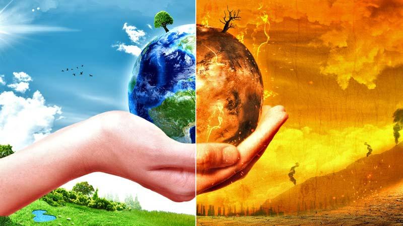 توضیحات ساده در مورد تغییرات آب و هوا