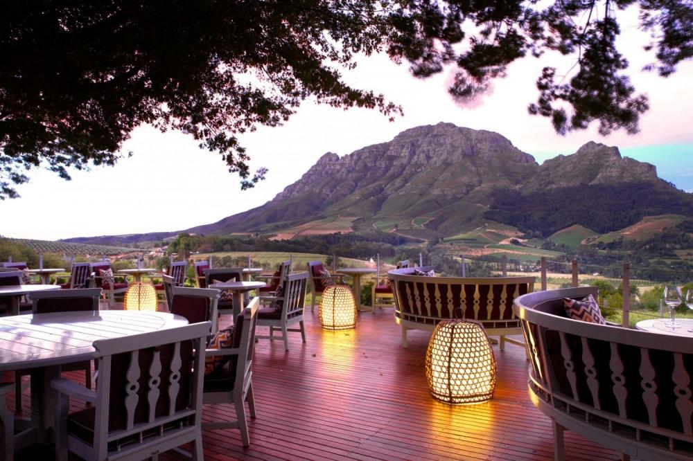 رستوران دلیر گراف (Delaire Graff) در آفریقای جنوبی
