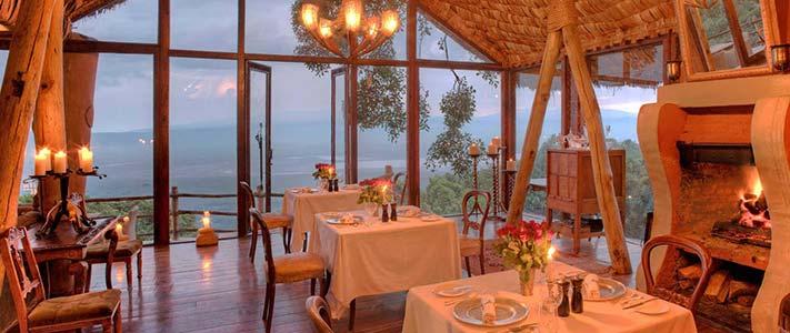 Ngorongoro Crater Lodge در انگورونگورو، تانزانیا