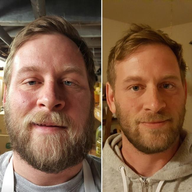 هفت ماه بدون الکل