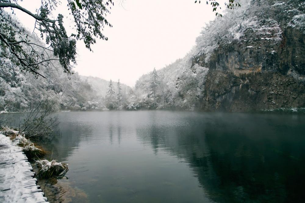 دریاچه پلیتیوایس در پارک ملی، کرواسی
