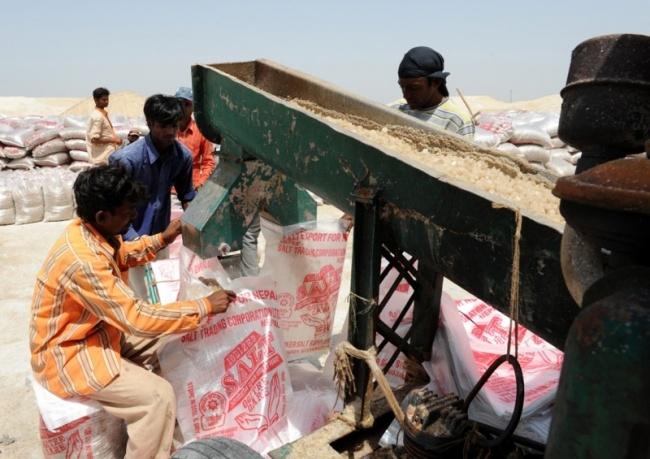 بستهبندی نمک در هند