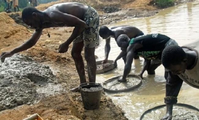 درجستوجوی الماس در آفریقا