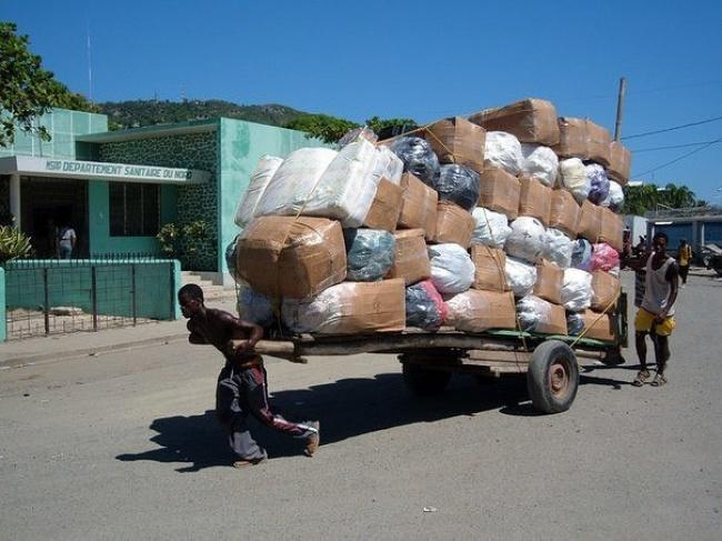 کارگری در هایتی