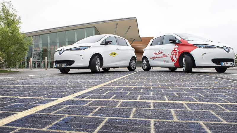 با اولین جاده خورشیدی دنیا آشنا شوید
