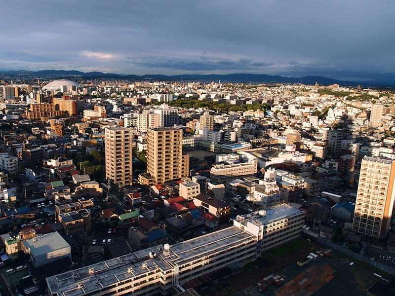 ۳- ژاپن: ۱۸ شهر