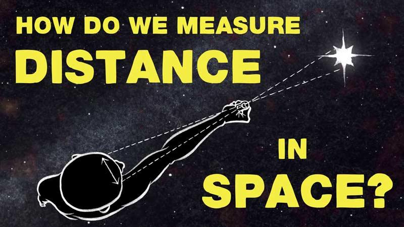 فواصل کیهانی چطور اندازهگیری میشوند؟