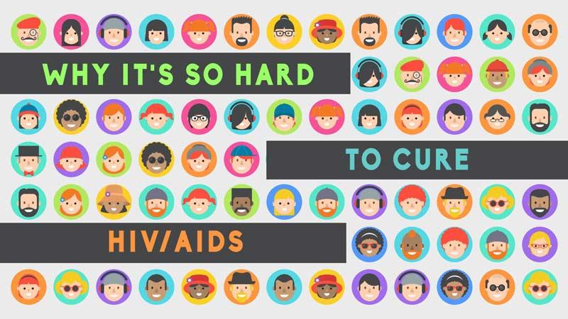 چرا درمان HIV ایدز دشوار است؟
